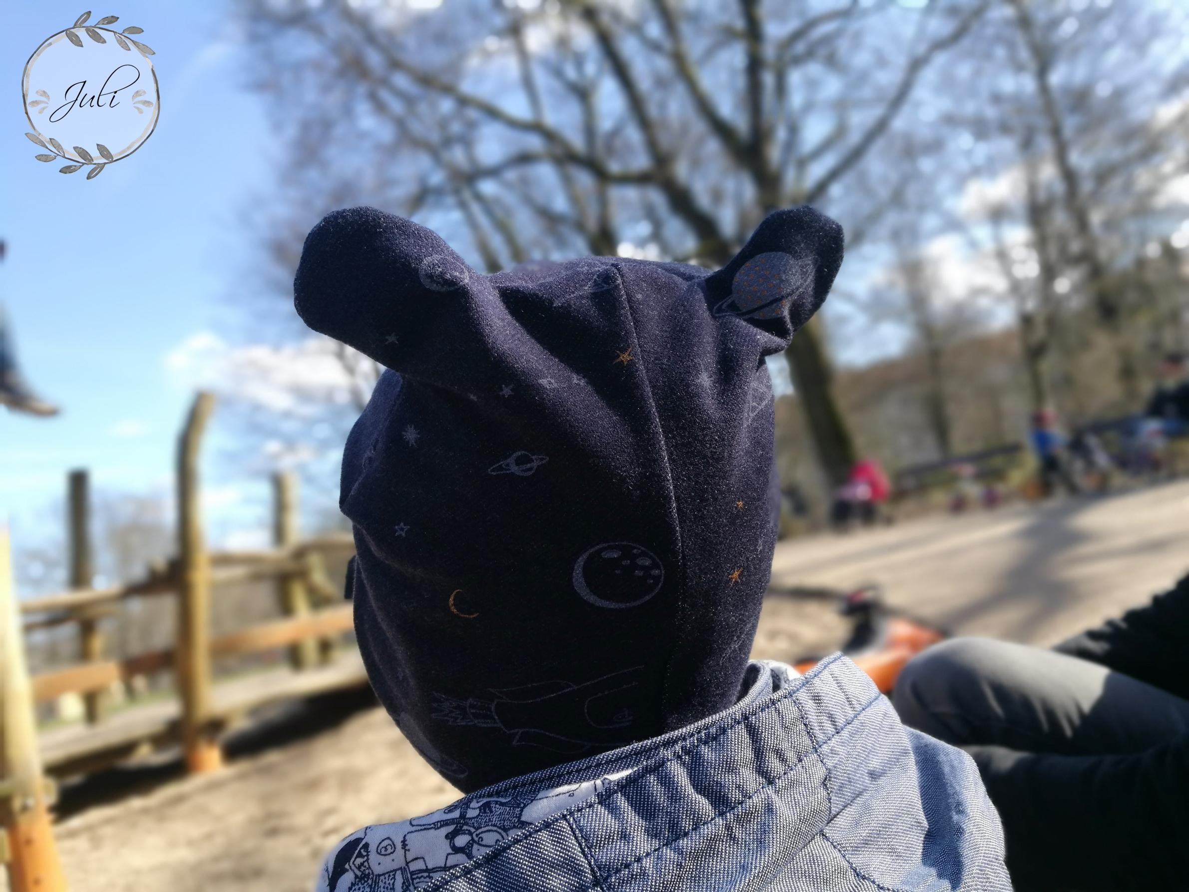 Babybärenmütze Frühlingsversion