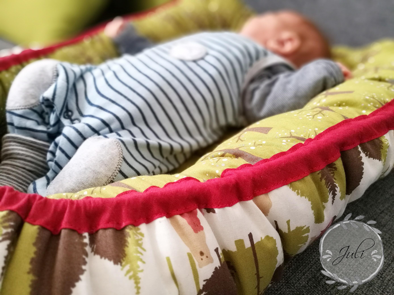 Babynestchen nähen